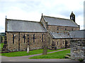 NY7064 : Haltwhistle:  Church of the Holy Cross by Dr Neil Clifton
