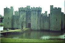 TQ7825 : Bodiam Castle, North Front by Colin Smith