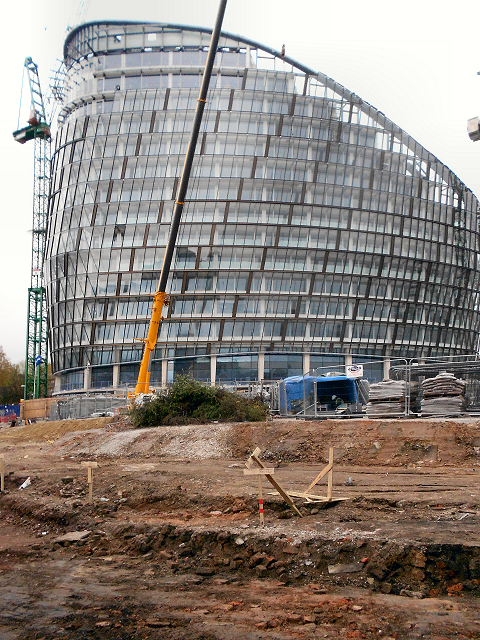 NOMA Construction Site, One Angel Square