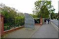 TQ2674 : Clapham Junction train crash memorial by Robin Webster