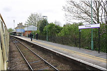 SU3521 : Romsey railway station by Roger Templeman