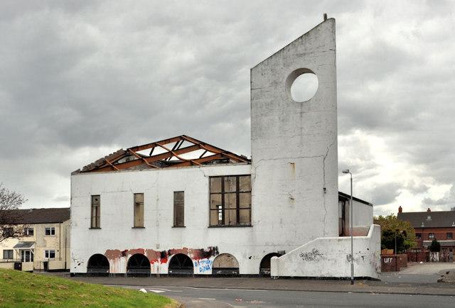 Derelict church, Belfast
