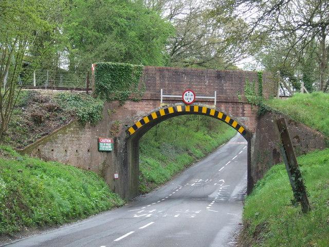 Railway bridge at Havenstreet