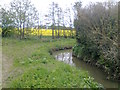SE3854 : Drainage at Great Wood by Dingdong