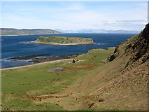 NR7204 : Sanda and Sheep Island by Richard Webb