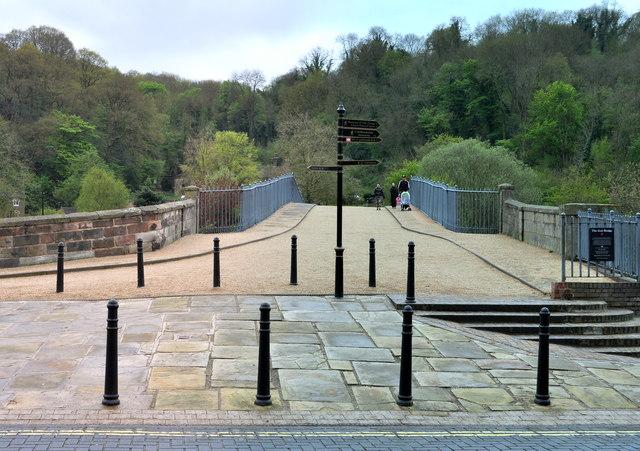 Ironbridge from Tontine Hill