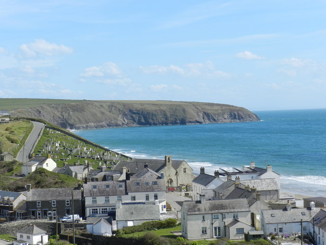 Aberdaron on a sunny afternoon