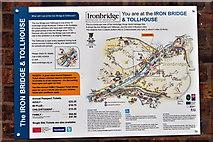 SJ6703 : Ironbridge information sign by John Carver