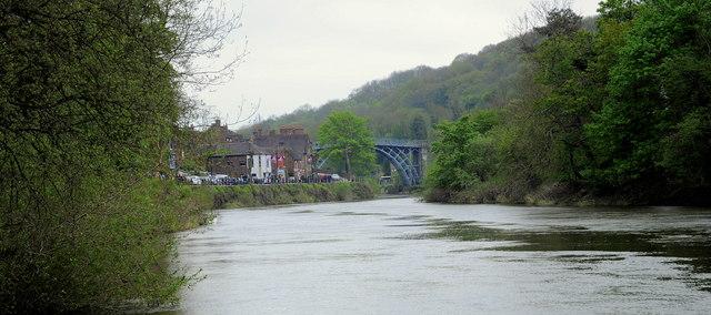 Ironbridge view down the river