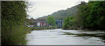 SJ6603 : Ironbridge view down the river by John Carver