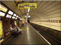SJ3490 : The Liverpool Underground by Richard Vince