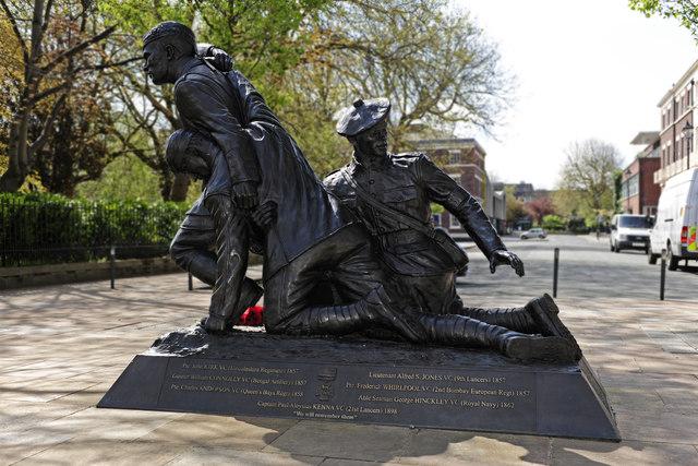 Liverpool Heroes memorial