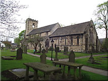 SD7336 : St. Mary and All Saints, Whalley by Philip Platt