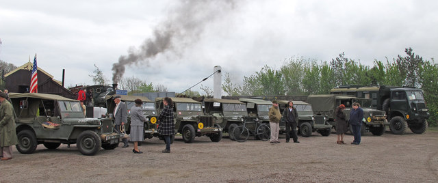 Second world war vehicles at the Middy (1)