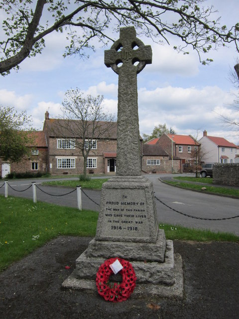 The War Memorial at Bishopton