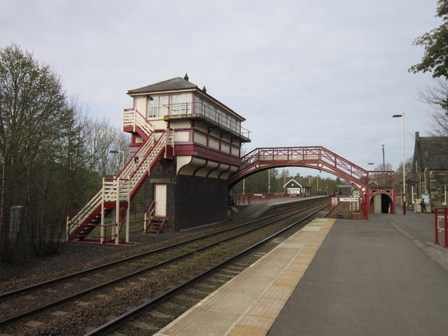 Haltwhistle train station