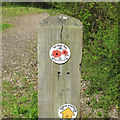 TM1631 : The Essex Way sign by Roger Jones