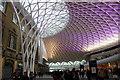 TQ3082 : Western Concourse, Kings Cross station by Julian P Guffogg