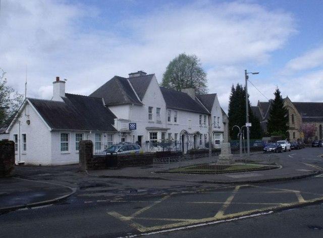 Uddingston, police station