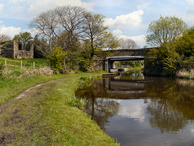Shuttleworth Hall Bridge