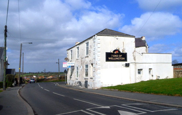 The Duke of Wellington, Pittington