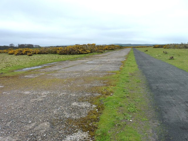 North end of the airfield