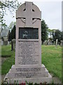 NY3561 : The War Memorial at Rockcliffe by Ian S