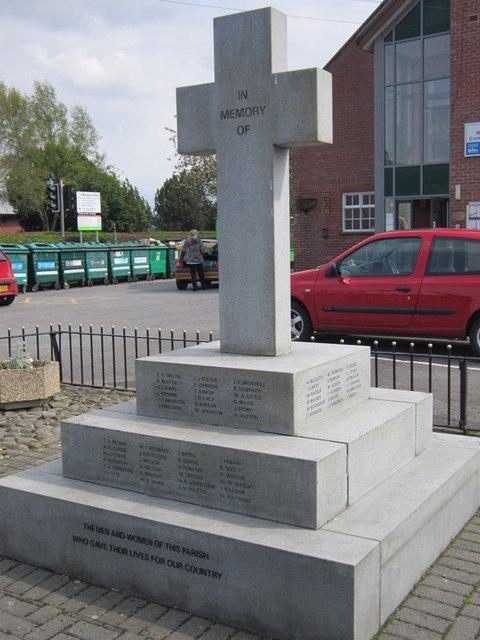 War Memorial, Longtown
