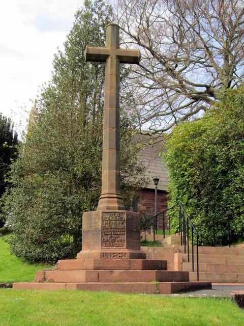 War Memorial, Scotby