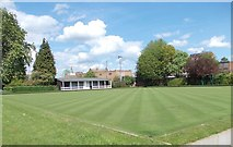 SK5319 : Bowling Green - Queen's Park by Betty Longbottom