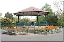 SK5319 : Bandstand - Queen's Park by Betty Longbottom