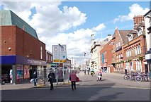 SK5319 : Cattle Market - viewed from Granby Street by Betty Longbottom