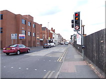 SK5319 : Leicester Road - viewed from Southfield Road by Betty Longbottom