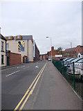 SK5319 : Greenclose Lane - Swan Street by Betty Longbottom
