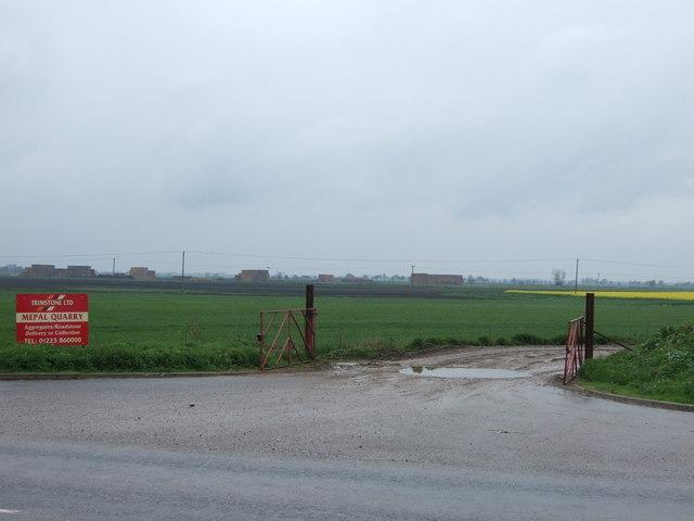 Track to Mepal Quarry
