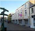 SH2482 : Holyhead : Former Woolworths still for sale by Jaggery