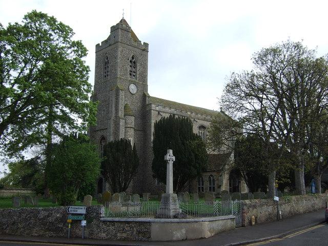 St Andrew's Church, Isleham