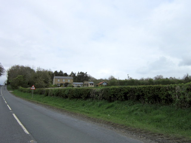 Limekiln Cottage from the B6275