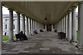 TQ3877 : Colonnade, Queen's House by Ian Taylor