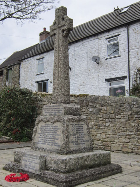 The War Memorial at Rookhope