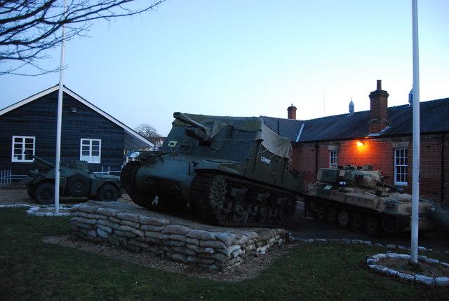 Tanks, Aldershot Military Museum