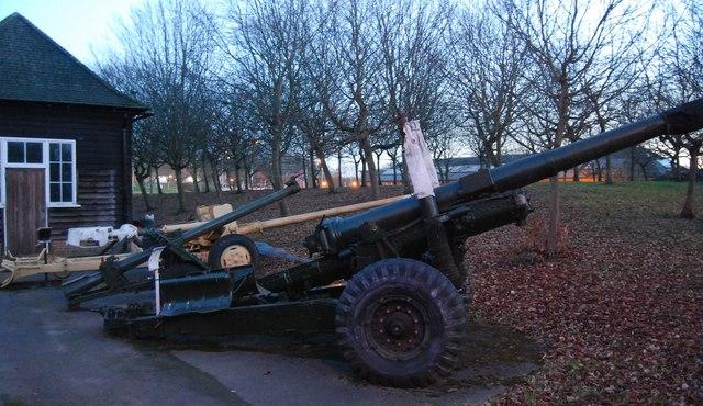 Field gun, Aldershot Military Museum