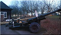 SU8753 : Field gun, Aldershot Military Museum by N Chadwick