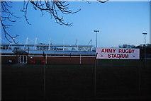 SU8652 : Army Rugby Stadium by N Chadwick