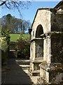 SE1564 : Porch, Bewerley Grange by Derek Harper