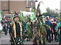 TQ8209 : Jack in the Green parade, Collier Road by Oast House Archive