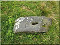 NS4380 : Boundary marker at Hill of Standing Stones by Lairich Rig