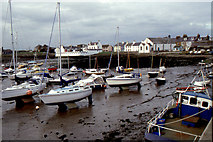 NX4736 : Isle of Whithorn harbour by Christopher Hilton