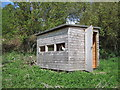 NY9257 : Quaker's Hole Bird/Nature Hide by Les Hull