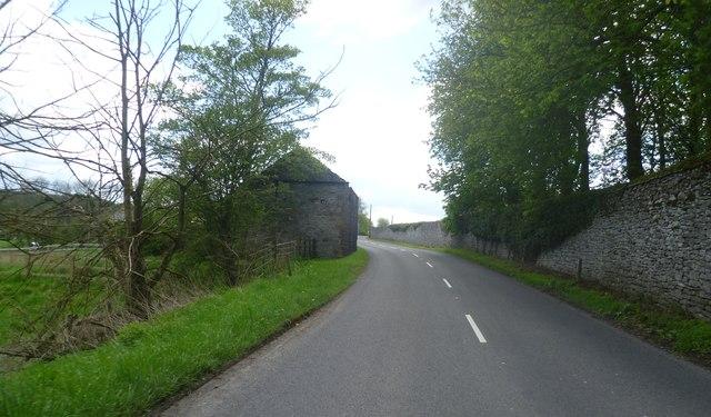 Barn on the B6001